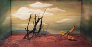 Woestijnlanding (close up)
